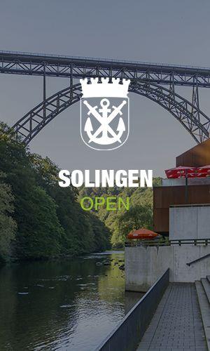 Solinger Wappen mit Müngstener Brücke