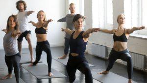 Teilnehmer Yogakurs
